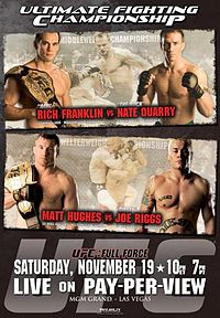 Sports Photos - 2005 UFC 56 Full Force - A poster or logo for UFC 56: Full Force.