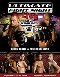 Sports Photos - 2006 UFC Ultimate Fight Night 5 - A poster or logo for Ultimate Fight Night 5.