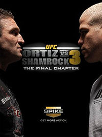 Sports Photos - 2006 Ortiz Vs Shamrock 3- The Final Chapter - A poster or logo for Ortiz vs. Shamrock 3: The Final Chapter.