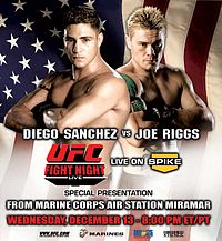Sports Photos - 2006 UFC Fight Night: Sanchez Vs Riggs - A poster or logo for UFC Fight Night: 7.