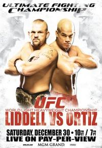Sports Photos - 2006 UFC 66 Liddell Vs. Ortiz - A poster or logo for UFC 66: Liddell vs. Ortiz.