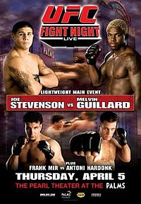 Sports Photos - 2007 UFC Fight Night: Stevenson Vs Guillard - A poster or logo for UFC Fight Night: Stevenson vs Guillard.