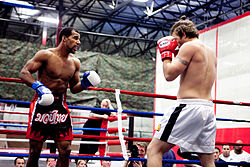 Boxing Photos - Muay Thai - Muay Thai championship boxing match in Sterling