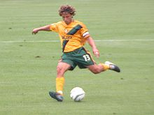 Soccer Photos - Los Angeles Galaxy - Cobi Jones playing for Galaxy in 2003
