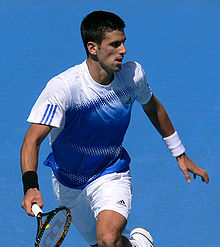 Tennis Photos - 2008 Australian Open - Novak Djokovic became the first Serbian man to win a slam title.