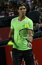 Tennis Photos - 2011 Australian Open - Rafael Nadal was the number one seed in the Men's Singles
