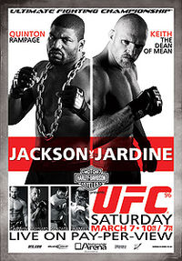 Sports Photos - 2009 UFC 96: Jackson Vs. Jardine - A poster or logo for UFC 96: Jackson vs. Jardine.