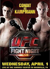Sports Photos - 2009 UFC Fight Night: Condit Vs. Kampmann - A poster or logo for UFC Fight Night: Condit vs. Kampmann.