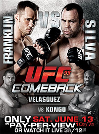 Sports Photos - 2009 UFC 99: The Comeback - A poster or logo for UFC 99: The Comeback.
