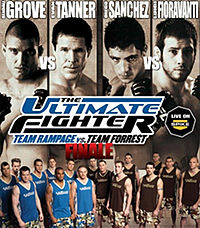 Sports Photos - 2008 UFC The Ultimate Fighter 7 Finale - A poster or logo for The Ultimate Fighter 7 Finale.