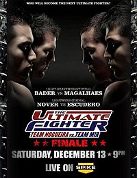 Sports Photos - 2008 The Ultimate Fighter: Team Nogueira Vs Team Mir Finale - A poster or logo for The Ultimate Fighter 8 Finale.