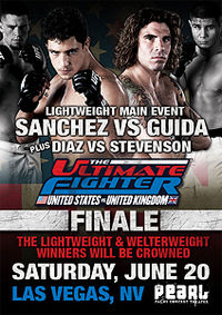 Sports Photos - 2009 The Ultimate Fighter: United States Vs. United Kingdom Finale - A poster or logo for The Ultimate Fighter 9 Finale.