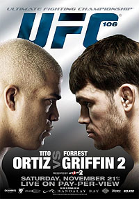 Sports Photos - 2009 UFC 106: Ortiz Vs. Griffin 2 - A poster or logo for UFC 106: Ortiz vs. Griffin 2.
