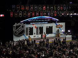 Hockey Photos - 2008 NHL Entry Draft - 2008 NHL Entry Draft Stage