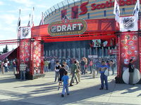 Hockey Photos - 2008 NHL Entry Draft - Patio of Scotiabank Place