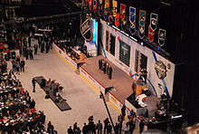 Hockey Photos - 2011 NHL Entry Draft - The Edmonton Oilers select Ryan Nugent-Hopkins as top pick in Round One of the 2011 NHL Entry Draft