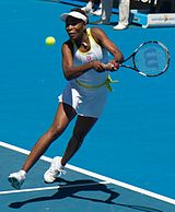 Tennis Photos - 2010 Australian Open Women's Doubles - Venus Williams</b>