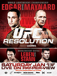 Sports Photos - 2011 UFC 125 Resolution - A poster or logo for UFC 125: Resolution.
