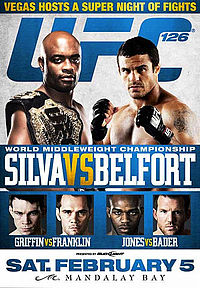 Sports Photos - 2011 UFC 126 Silva Vs. Belfort - A poster or logo for UFC 126: Silva vs. Belfort.
