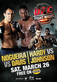 Sports Photos - 2011 UFC Fight Night: Nogueira Vs. Davis - A poster or logo for UFC Fight Night: Nogueira vs. Davis.