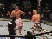 Sports Photos - 2011 UFC 131 Dos Santos Vs. Carwin - Junior Dos Santos fought Shane Carwin in the main event of <i>UFC 131</i>.