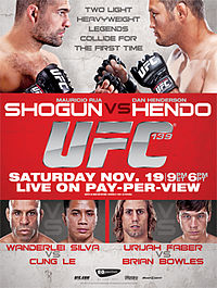 Sports Photos - 2011 UFC 139 Shogun Vs. Henderson - A poster or logo for UFC 139: Shogun vs. Henderson.