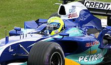 Motorsports Photos - Felipe Massa - Massa driving for Sauber at the 2005 British Grand Prix