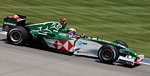 Motorsports Photos - Jaguar Racing - The Jaguar R5 being driven by Mark Webber in 2004 - the team's last season in F1.