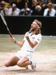 "Tennis Photos - Bjorn Borg - Bjorn Borg (Swedish pronunciation: [bjÅ""Ë�ɳ bÉ""rj]  ( ¶rn Borg.ogg""-->listen); born 6 June 1956) is a former World No. 1 tennis player from Sweden; he won a record five consecutive Wimbledon singles titles and is considered to be one of the greatest tennis players of all time."