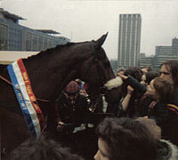 Horse Racing Photos - Red Rum - Red Rum at Castle Park,  Bristol 1980