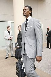 Basketball Photos - Chris Bosh - Bosh at the 2009 All-Star Game