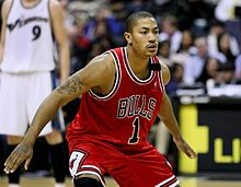 Basketball Photos - Derrick Rose - Derrick Rose during his rookie season.