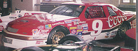 Motorsports Photos - Sprint Cup Series - Bill Elliott's Melling Racing car that set the record for the fastest lap in a stock car