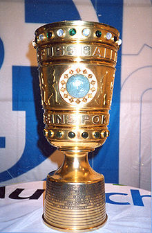 Soccer Photos - DFB Cup - The trophy