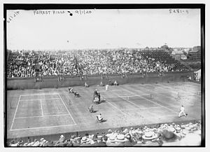 Tennis Photos - 1920 U.S. National Championship (Tennis) - Forest Hills Tennis 1920