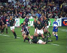 Sports Photos - 2003 Rugby World Cup - South Africa vs Georgia