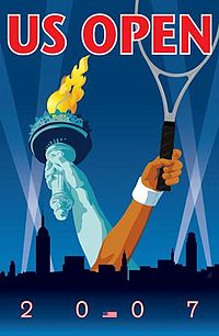 Tennis Photos - 2007 US Open (Tennis) - 2007 US Open tennis poster