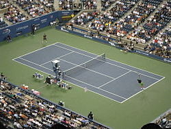 Tennis Photos - 2008 US Open (Tennis) - Roddick vs. Djokovi