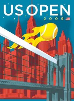 Tennis Photos - 2009 US Open (Tennis) - US Open tennis 2009 poster