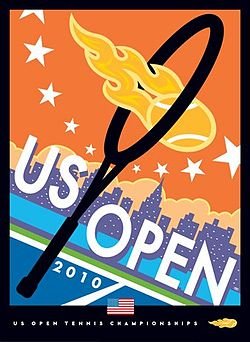Tennis Photos - 2010 US Open (Tennis) - 2010 US Open tennis poster
