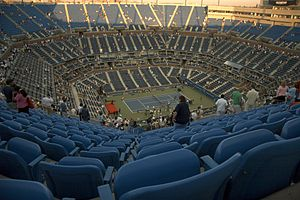 Tennis Photos - 2012 US Open (Tennis) - Arthur Ashe stadium