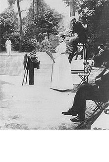 Olympics Photos - 1900 Olympic Games - Charlotte Cooper