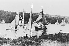 Olympics Photos - 1900 Olympic Games - The Olympic regatta