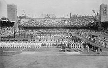 Olympics Photos - 1912 Olympic Games - Opening Ceremony