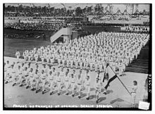 Olympics Photos - 1916 Summer Olympics - Parade for the opening of the stadium on 8 June 1913
