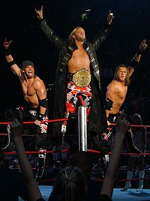 Sports Photos - Edge (Wrestler) - Edge alongside Curt Hawkins and Zack Ryder