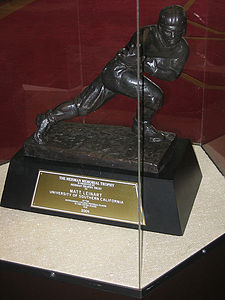 College Football Photos - USC Trojans Football - Matt Leinart's Heisman Trophy