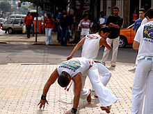 Sports Photos - Capoeira - Capoeiristas outside