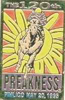 Horse Racing Photos - 1995 Preakness Stakes - Preakness Logo