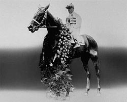 Horse Racing Photos - 1921 Kentucky Derby - Behave Yourself